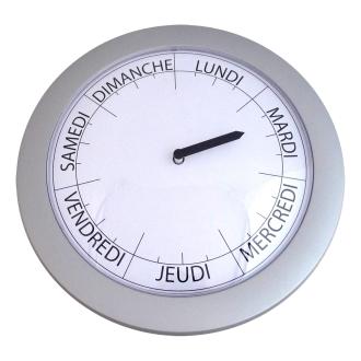 IDENTITES HORLOGE JOURS DE LA SEMAINE