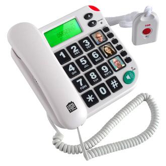 IDENTITES TELEPHONE AVEC TELECOMMANDE SOS