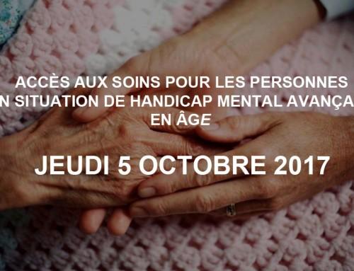 Accès aux soins pour les personnes en situation de handicap mental avançant en âge : regards croisés