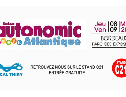 Salon Autonomic Atlantique 8 et 9 Mars – Parc des Expositions – Bordeaux Lac