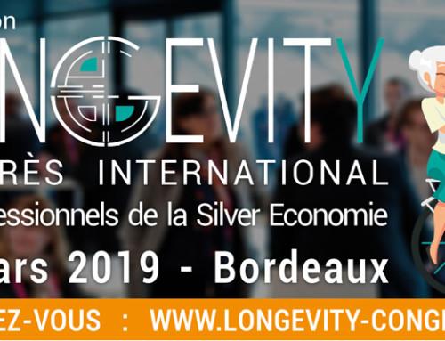 Médical Thiry au congrès LONGEVITY International le 20 Mars à Bordeaux