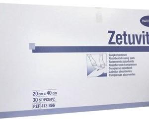Hartmann Zetuvit E Pansements Absorbants Non Stériles 20x40cm Pièces 30 (4138661)