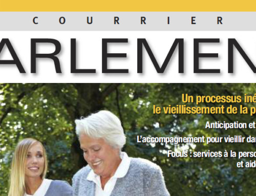 Article Liftup dans Le courrier du parlement