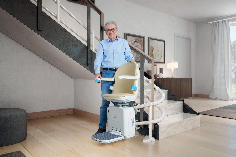 Handicare fabricant monte escalier