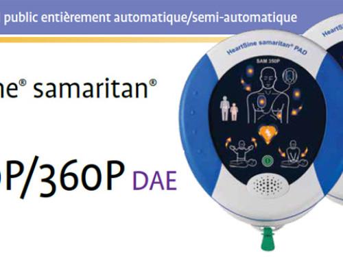 Défibrillateur grand public entièrement automatique/semi-automatique