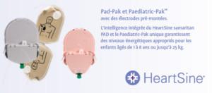 Pad-Pak et Paediatric-Pak