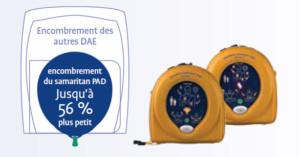 defibrillateur petite taille