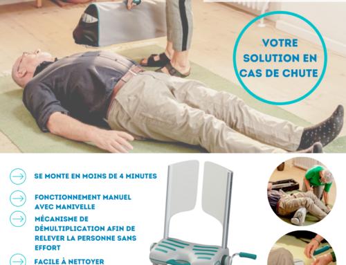 Chaise Raizer M, votre solution anti chute à domicile